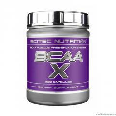 Scitec BCAA-X amino acids of 330 capsules