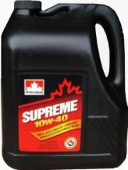 Petro-Canada SUPREME 10W-40 semi-synthetic oil (4