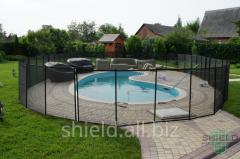 Universal pool fence, fence