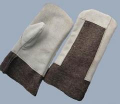 Вачеги, рукавицы для металлургов, стекольщиков