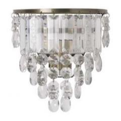 Wall sconce of ADELPHI GLASS from Laura Ashley