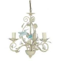 Люстра Hummingbird 3 light с керамической птичкой