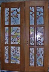 Межкомнатные деревянные двери.
