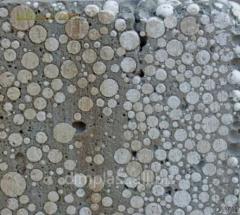 Polystyrene foam crumb (Droblenka) Apply