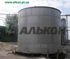Tanks production and installation