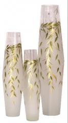 The decorated vases. Willow series