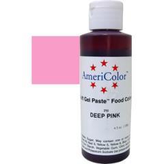 Краситель гелевый AmeriColor Deep Pink 128 г (цвет