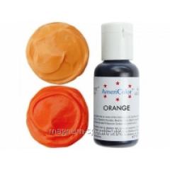 Краситель гелевый AmeriColor Orange 21 г (цвет