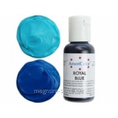 Краситель гелевый AmeriColor Royal Blue 21 г (цвет