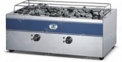 Grill with volcanic lava of EWT INOX LGE-6