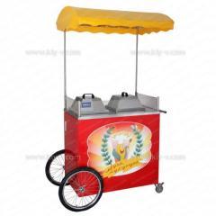 Cart kukuruzovarka of shopping Mall-to Muza corn