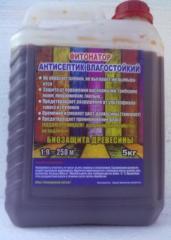 Antiseptics moisture resistant kt-t 1:9 for wood