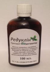 Биопрепарат Редуклин-Т для выгребных ям, септиков,