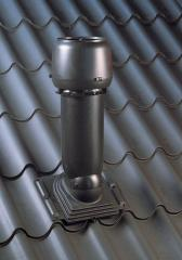 The aerator for a cattle roof of black color