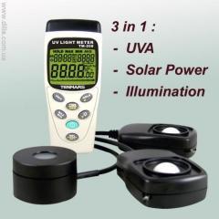 Люксметр (3 в 1) - TM-208