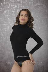 Термо-боди женское с длинным рукавом под шею...