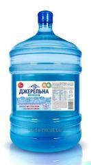 """Рогатинська \""""Джерельна\""""-вода артезіанська бутилированная 18,9л   з доставкою на замовлення Хмельницький"""