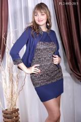 Женский костюм Жакет+платье PL2-892