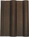 Черепица двойная римская коричневая