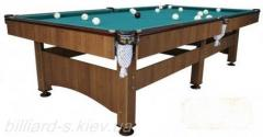 Billiard table (Junior), budgetary billiard table