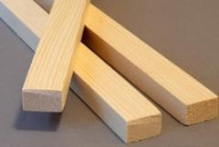 Lath wooden