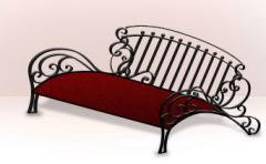Лавочки кованые по художественной ковке в Житомире