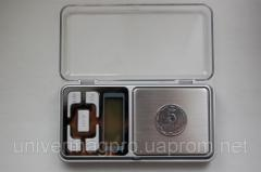 High-precision jeweler scales till 1000 gr (0,1)