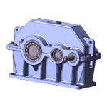 Cylindrical two-level reducer 1Ts2U-100 Kharkiv