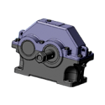 Reducer cylindrical 1TsU-100 from the producer