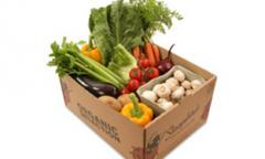 Packing for vegetables - a cardboard