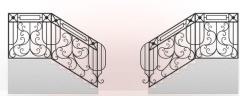 Кованые лестницы под заказ в Житомире и доставкой