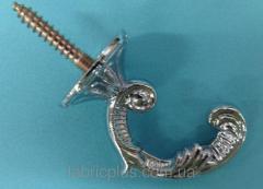 Крючок драпировочный Сталь 1284