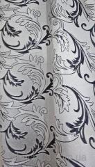 Портьерная ткань сер. 121347