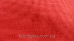 Ткань для вышивания красная 0102-3