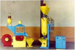 Set of the equipment for hydrothermal processing
