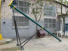 Conveyor grain shnekovy mobile