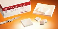 Styptic collagenic sponge of Genta-coll® Resorb