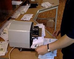 Техника для обработки писем, бандеролей, посылок
