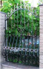 Заборы кованые, ворота, калитки, двери кованные в