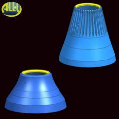 Bronekonus for conical crushers