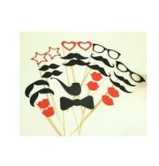 Фотобутафория (усы, очки) (набор для фотографии)