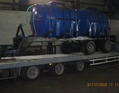 Tanks for an ammonia spiri