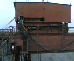 The system of weighing of cranes the automated SVA