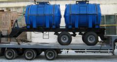 Прицеп двухосный для внесения аммиачной воды в