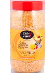 Bath salt with aroma Mango mousse of 550 g.