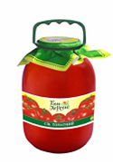Tomato juice (3 l) wholesale from the manufacturer