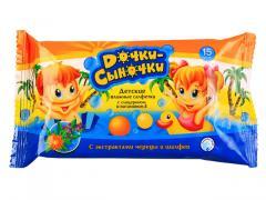 Children's hygienic wet towel wipes of TM of