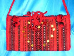 The embroidered bags, the Ukrainian souvenir