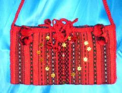 The embroidered bags, the Ukrainian souvenir