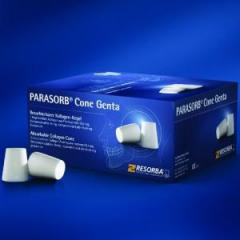 Collagenic material for implantology of Parasorb®